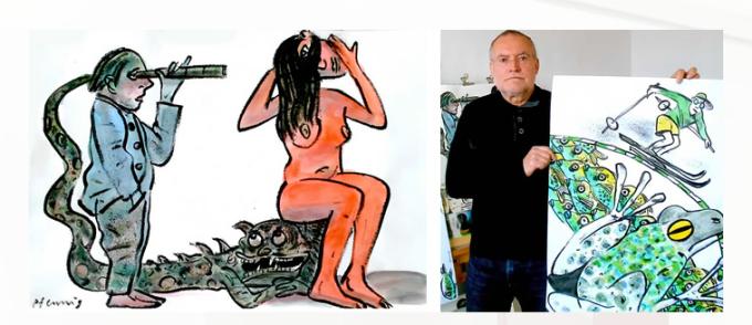 Wolf-Dieter Pfenning: News und Ausstellungen