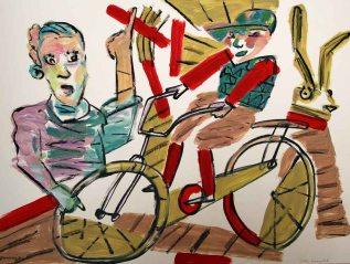 Geliehene Fahrräder I