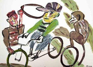 Geliehene Fahrräder II