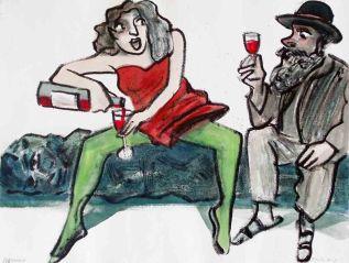 Wir sollten auf Goethe trinken und den Mannvergessen
