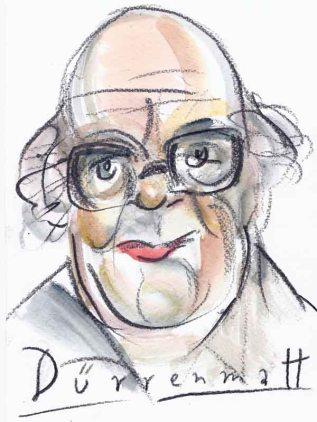 Portrait Dürrenmatt, Friedrich