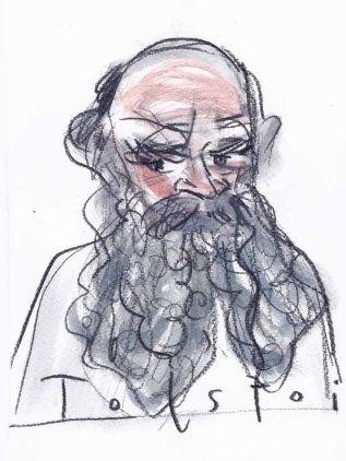 Portrait Tolstoi, Leo