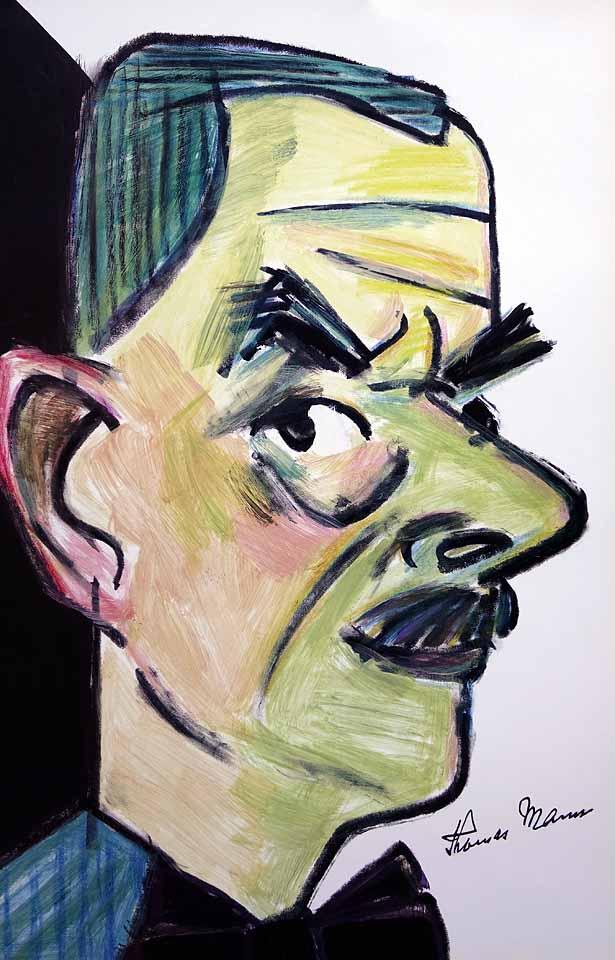 Mann-Thomas-Portrait-von-Wolf-Dieter-Pfennig